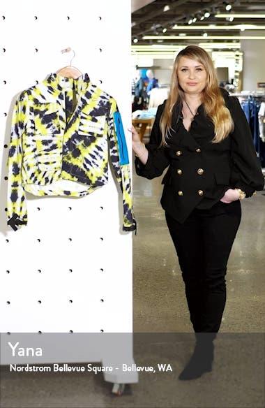 x Off-White Tie Dye Running Jacket, sales video thumbnail