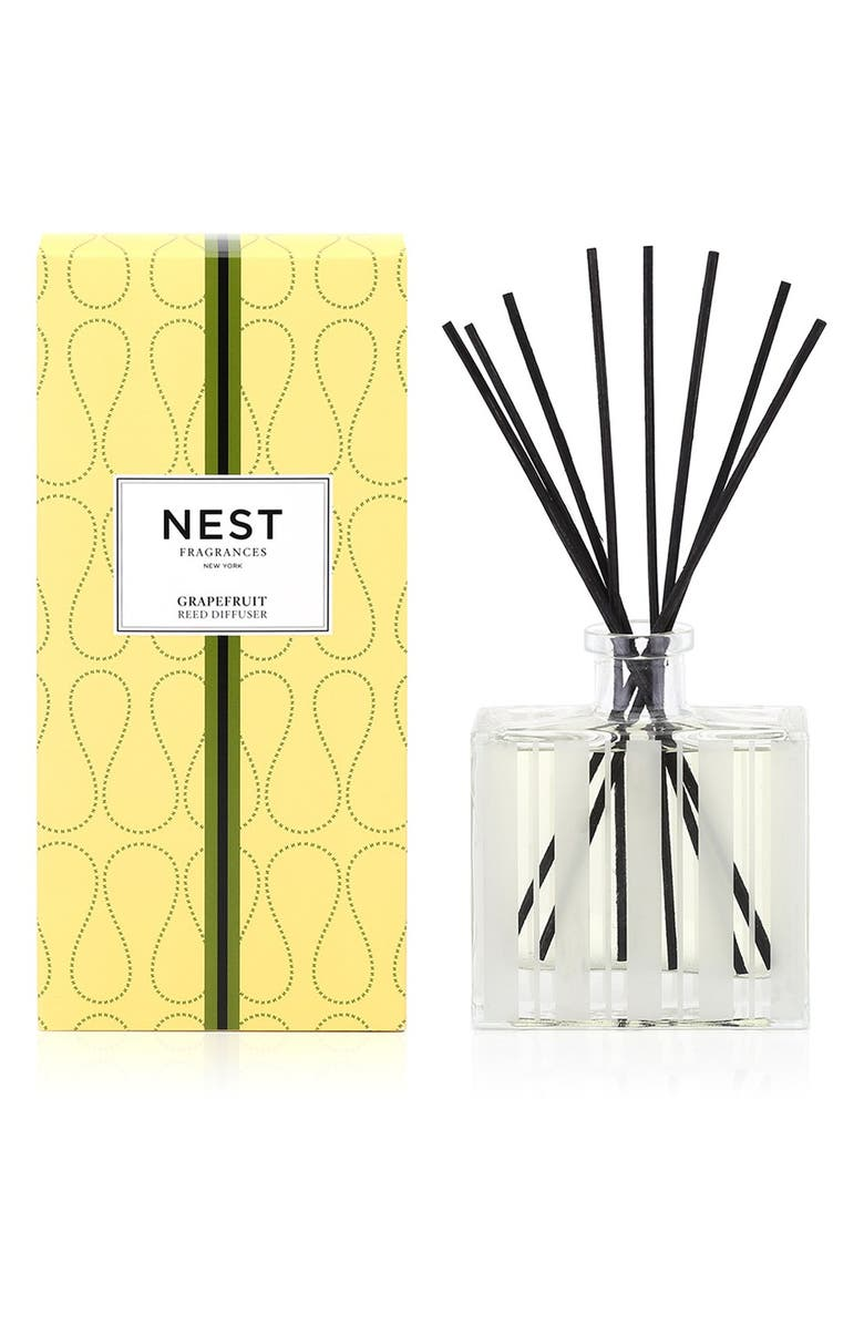 NEST FRAGRANCES Grapefruit Reed Diffuser, Main, color, NO COLOR