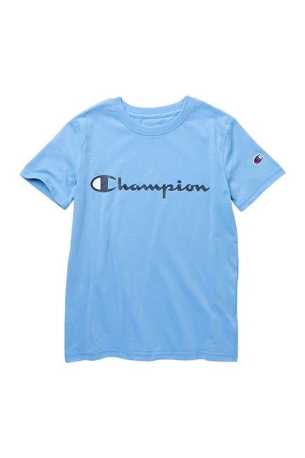 Image of Champion Classic Script Graphic T-Shirt