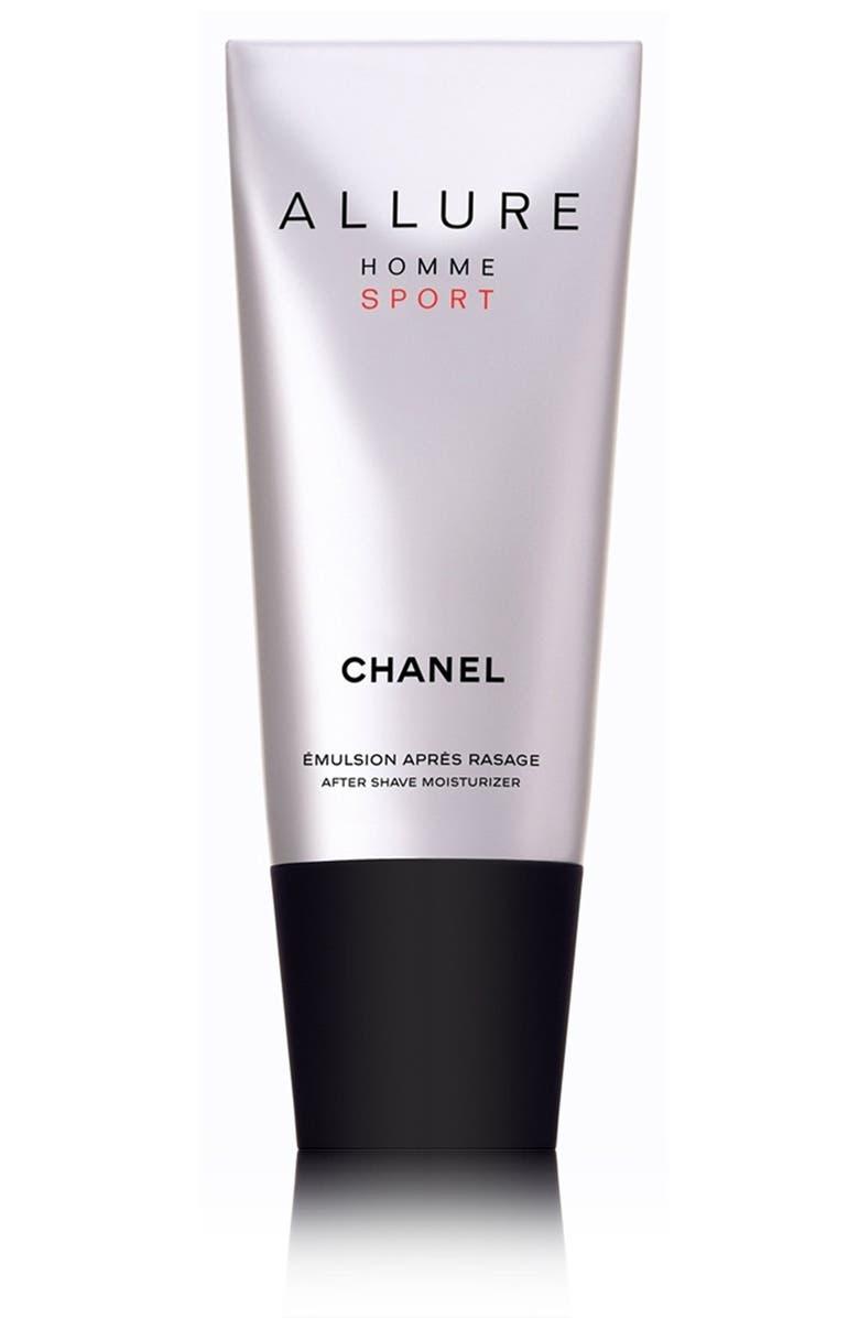 CHANEL ALLURE HOMME SPORT <br />After Shave Moisturizer, Main, color, 000