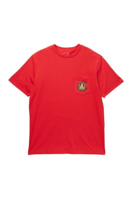 Image of Vineyard Vines MLS Atlanta United FC Patch Pocket T-Shirt