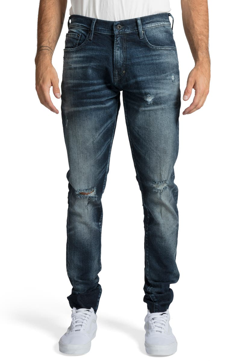 PRPS Windsor Skinny Fit Jeans, Main, color, HAIL