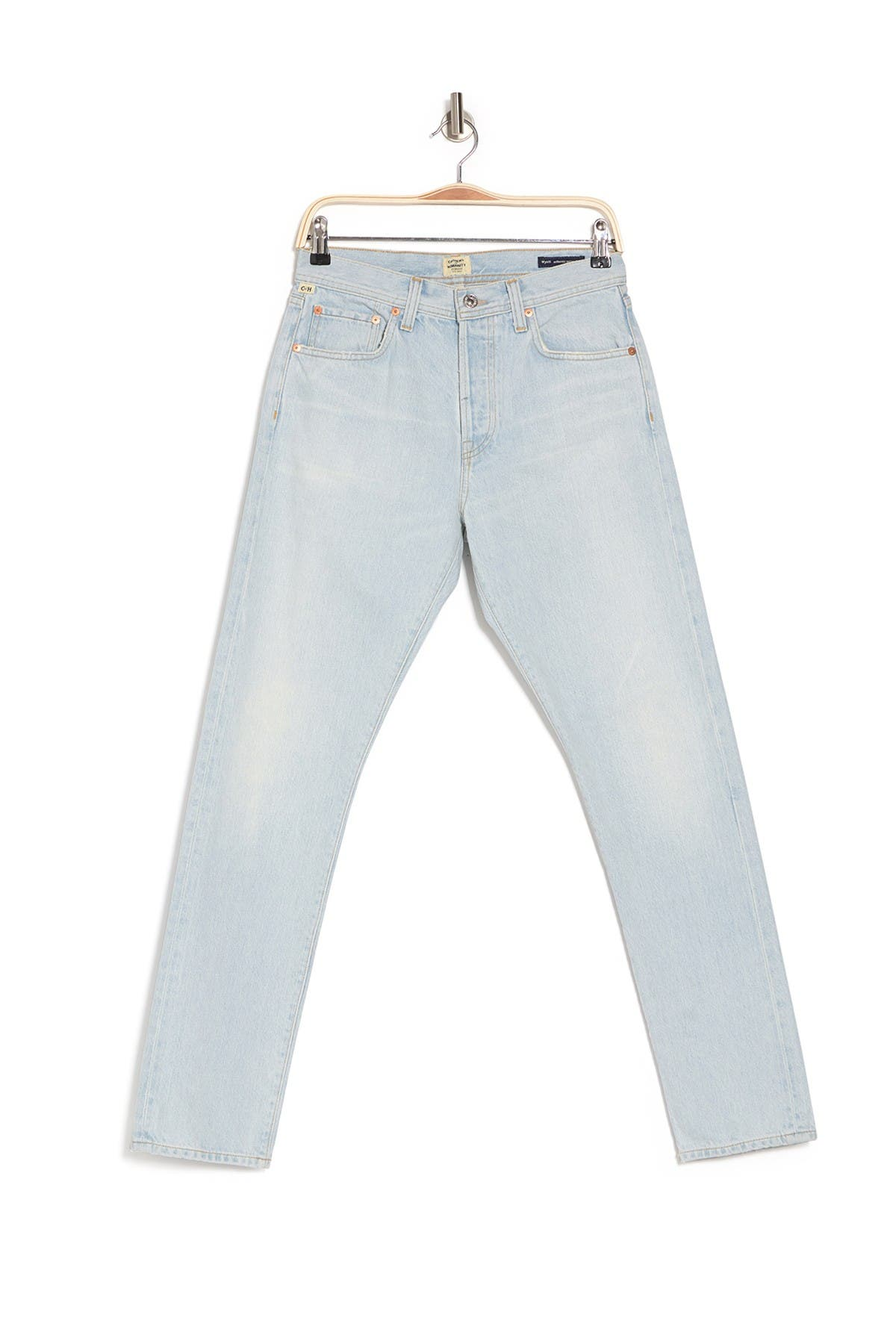 Image of Citizens Of Humanity Wyatt Authentic Narrow Fit Jeans