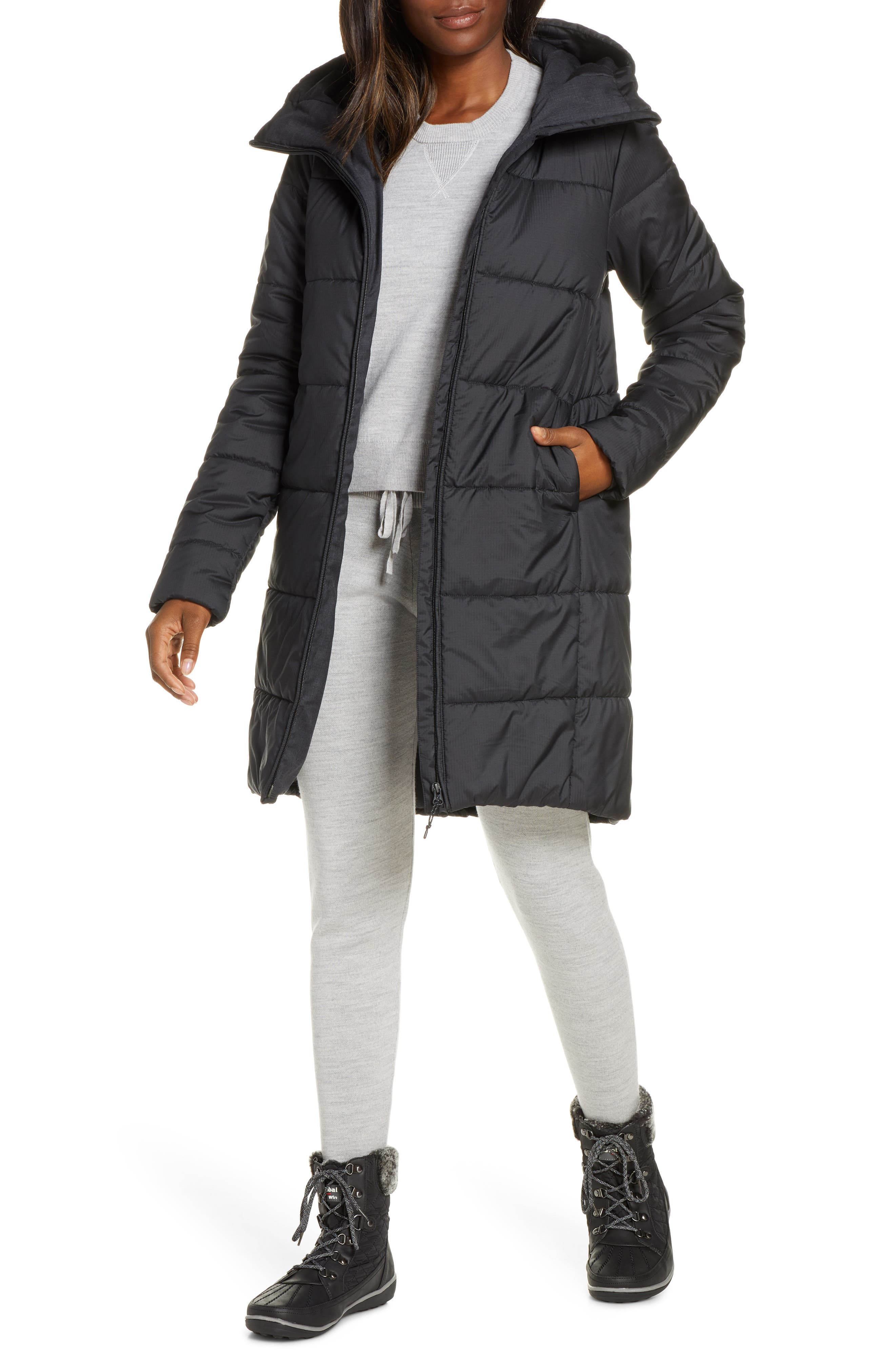 Collingwood 3Q Hooded Merinoloft(TM) Insulated Water Repellent Jacket
