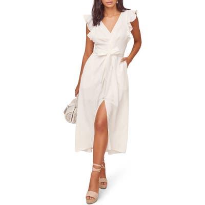 Astr The Label Euphoria Midi Dress, Ivory