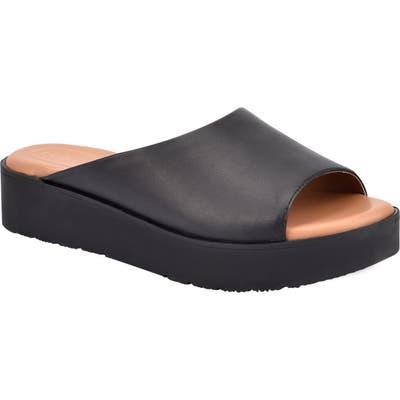 Evolve Flora Slide Sandal- Black