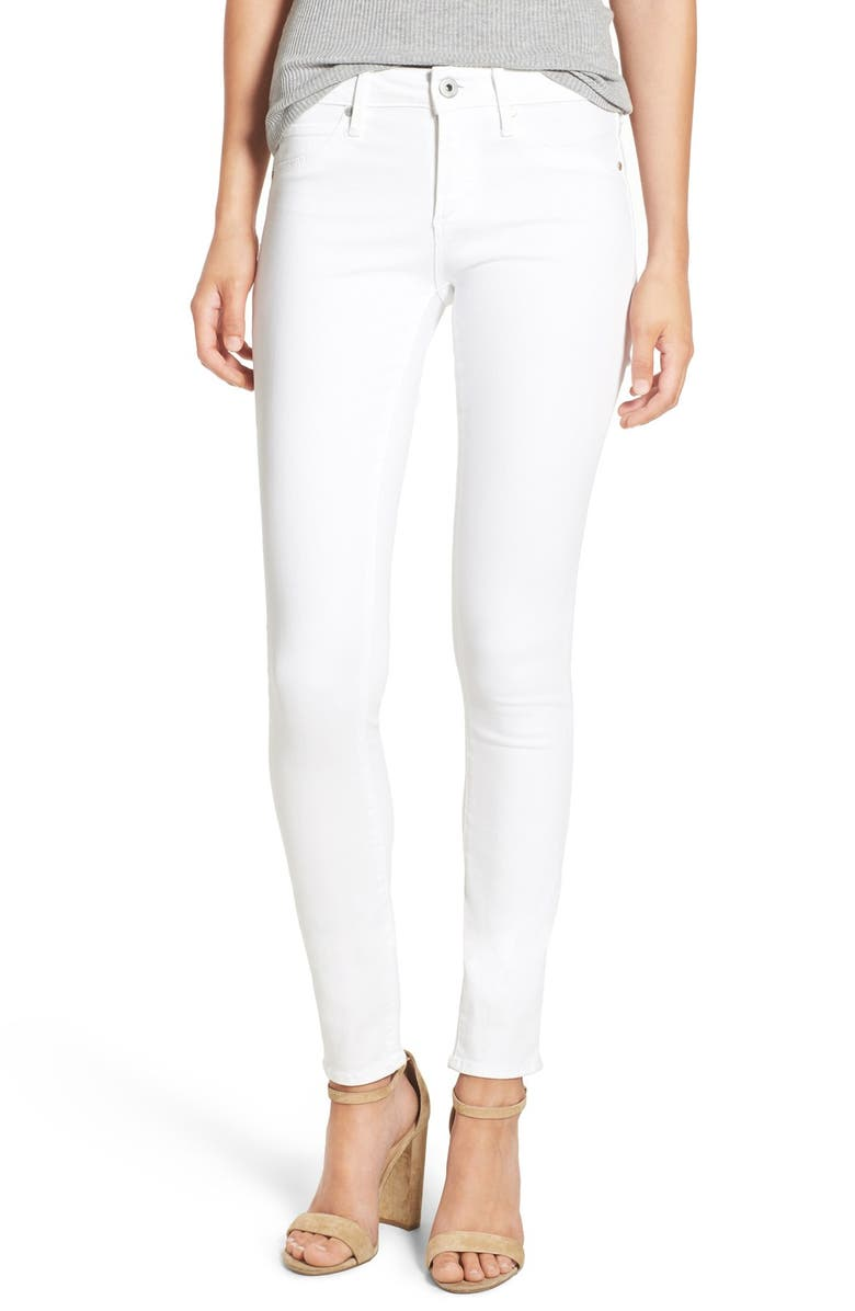 ARTICLES OF SOCIETY 'Mya' Skinny Jeans, Main, color, 100