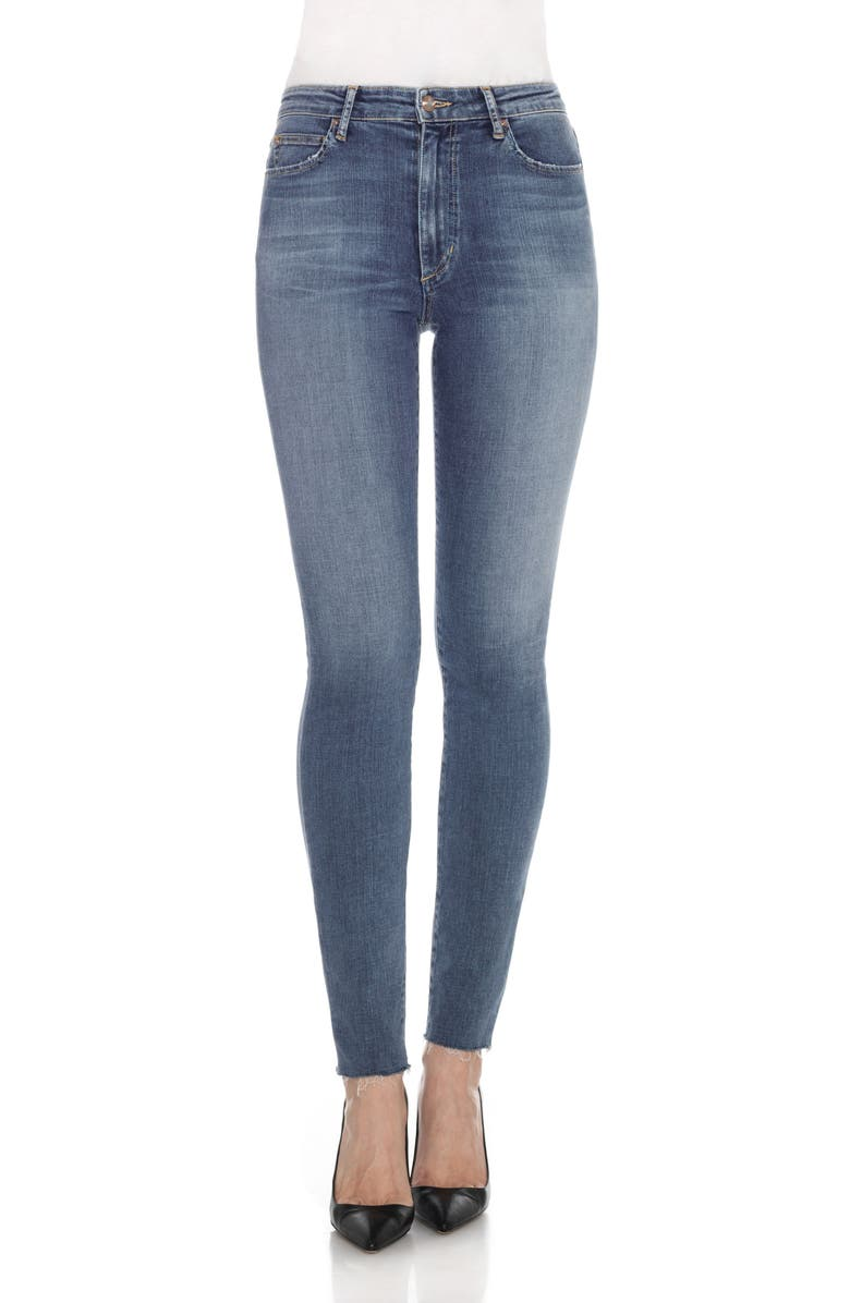 JOE'S Flawless Charlie High Rise Skinny Jeans, Main, color, 400