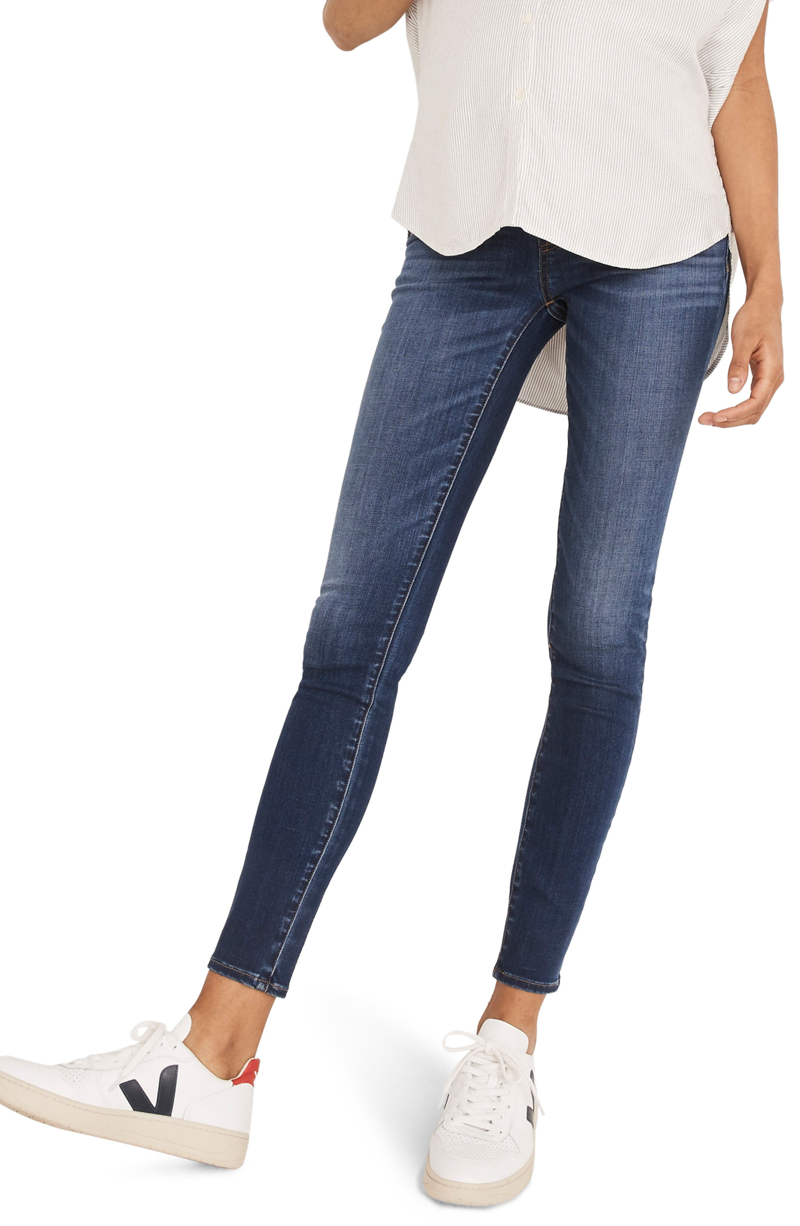 Women's Madewell Maternity Skinny Jeans
