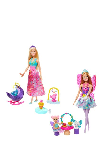 Image of Mattel Assorted Barbie(R) Dreamtopia Doll & Accessories Set