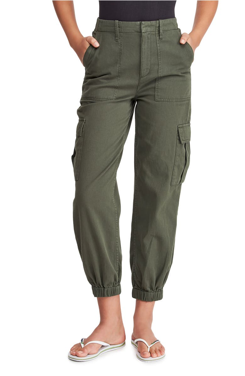 BDG URBAN OUTFITTERS Twill Cargo Trousers, Main, color, KHAKI