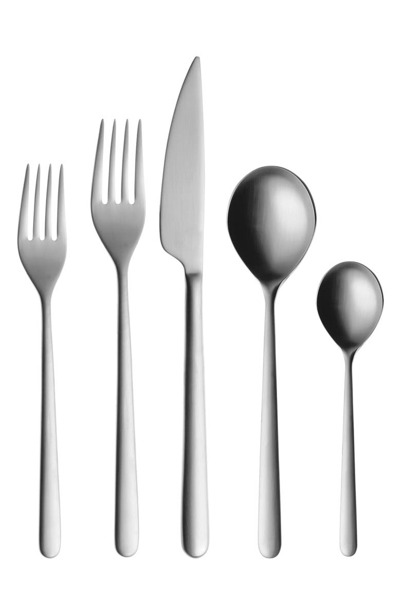 MEPRA Linea Ice 5-Piece Place Setting, Main, color, 040