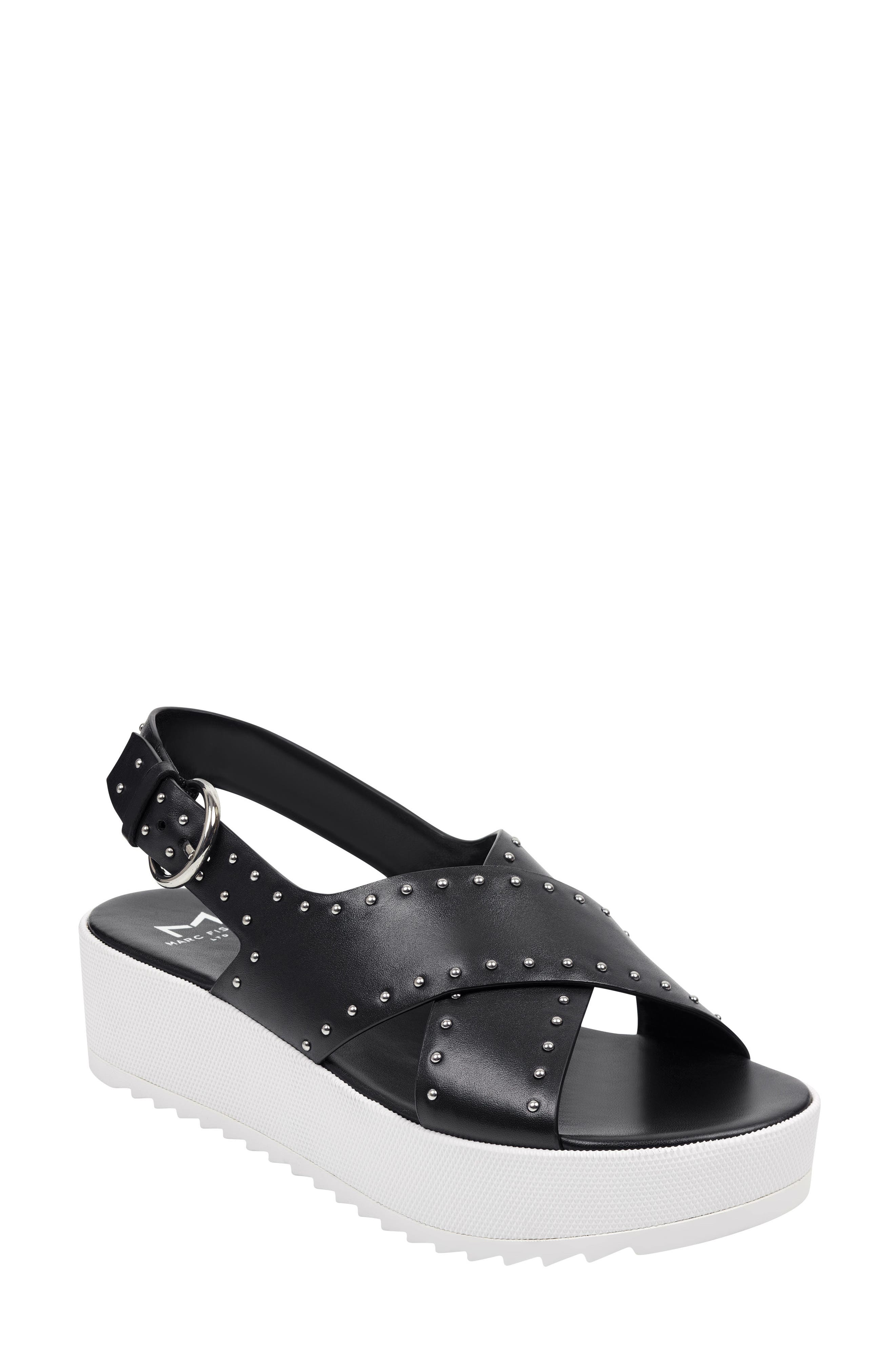 Marc Fisher Ltd Delilah Slingback Sandal, Black