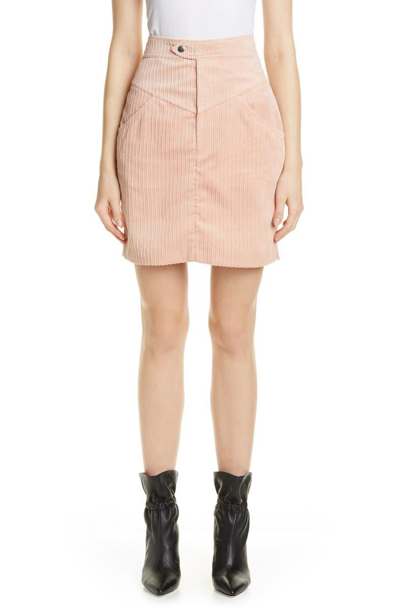 bb38acf71224 Isabel Marant Marsh High Waist Corduroy Skirt | Nordstrom