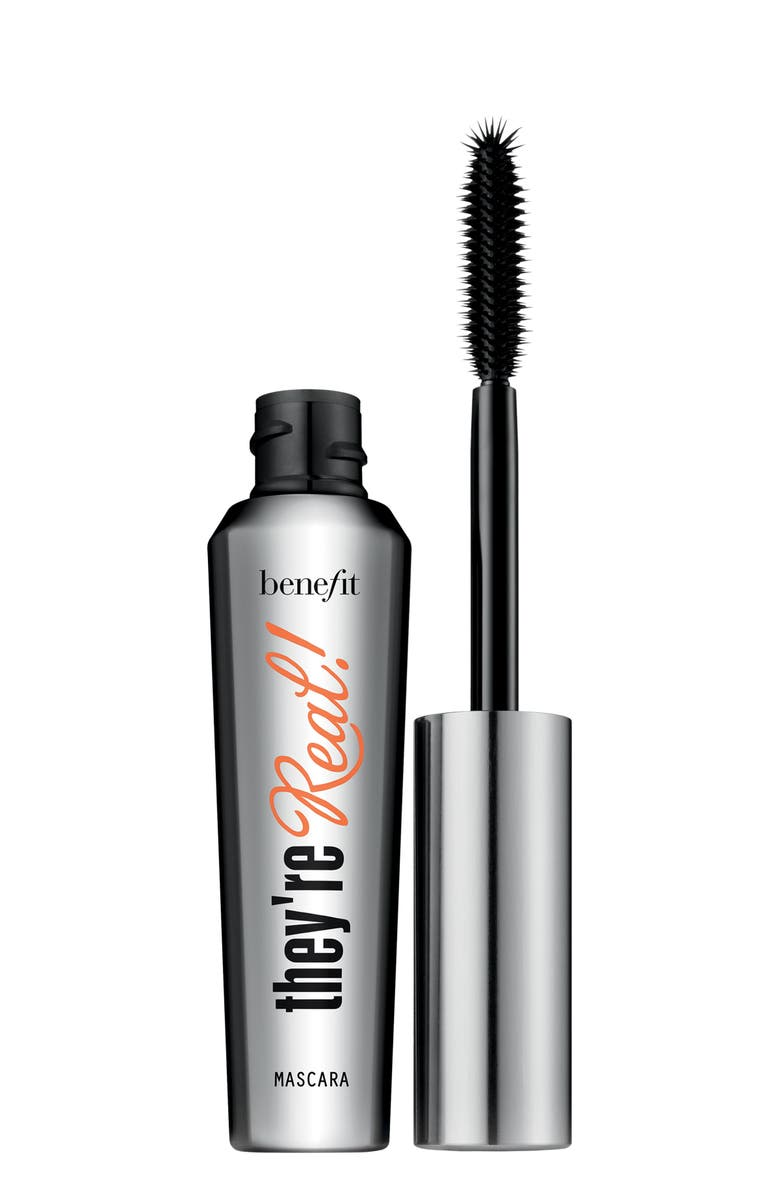 BENEFIT COSMETICS Benefit They're Real! Lengthening & Volumizing Mascara, Main, color, JET BLACK