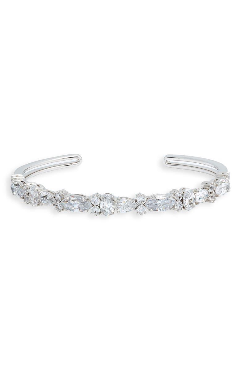 NADRI Spree Multi Stone Cuff Bracelet, Main, color, 040