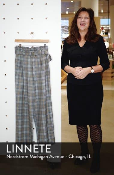 Check Wide Leg Trousers, sales video thumbnail