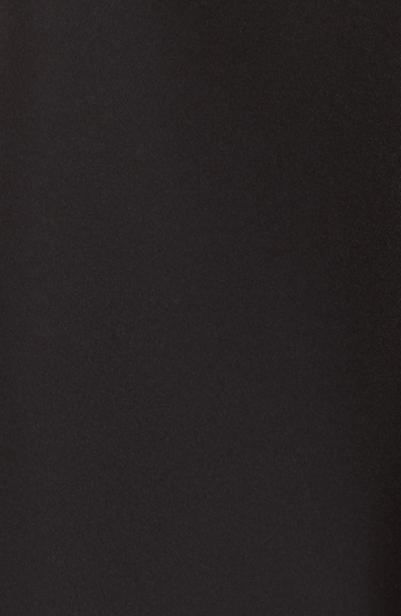 ,                             Bianca Back Cutout Fit & Flare Dress,                             Alternate thumbnail 6, color,                             001
