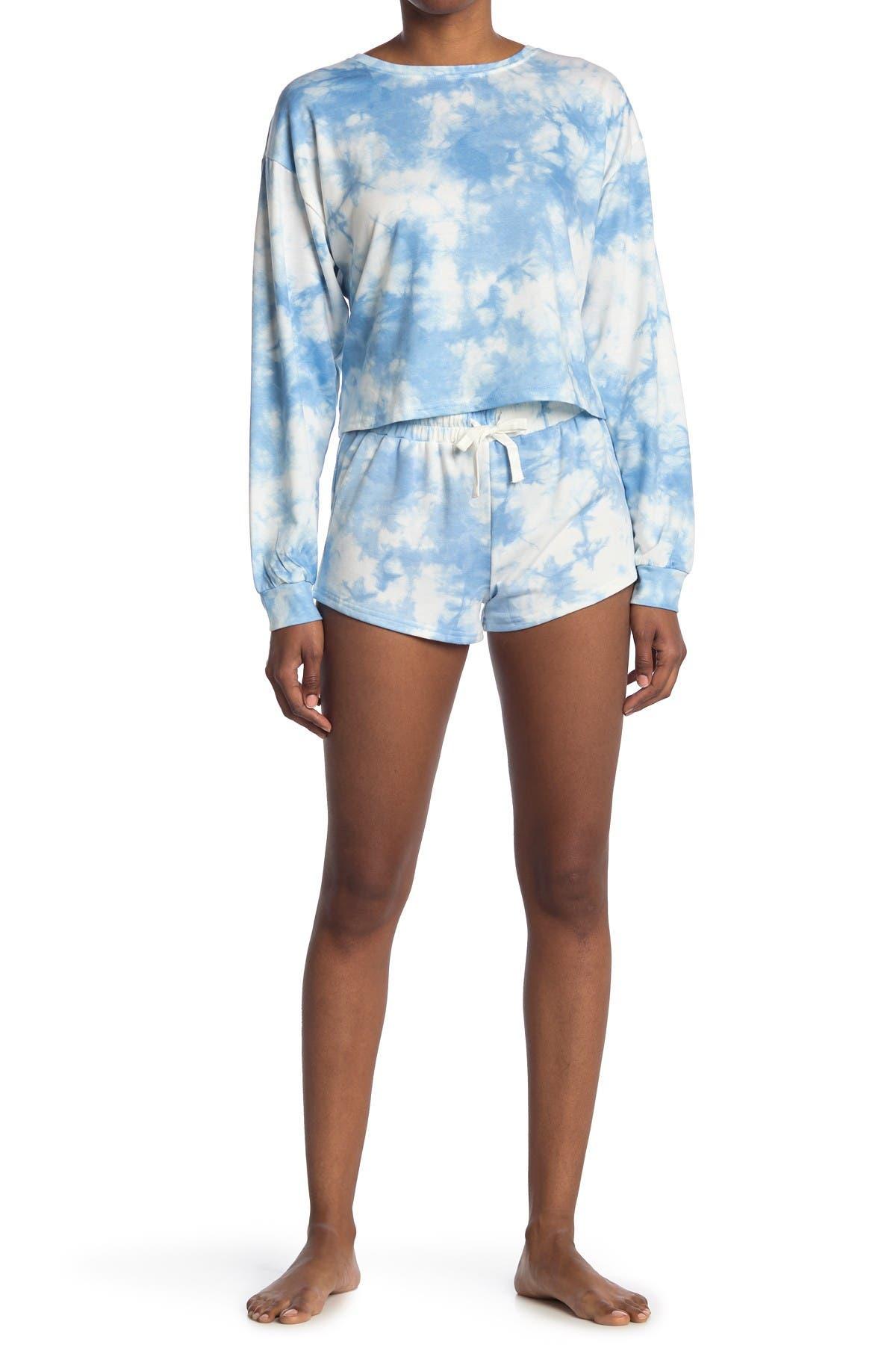 Image of COZY ROZY Free Spirit Long Sleeve/Shorts Set