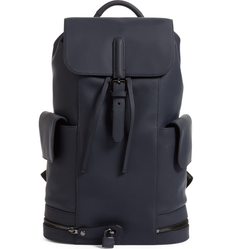 Outstanding Ted Baker London Helios Leather Backpack Nordstrom Machost Co Dining Chair Design Ideas Machostcouk