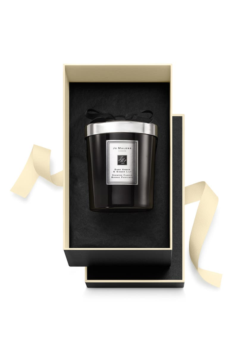 JO MALONE LONDON<SUP>™</SUP> Dark Amber & Ginger Lily Candle, Main, color, NO COLOR