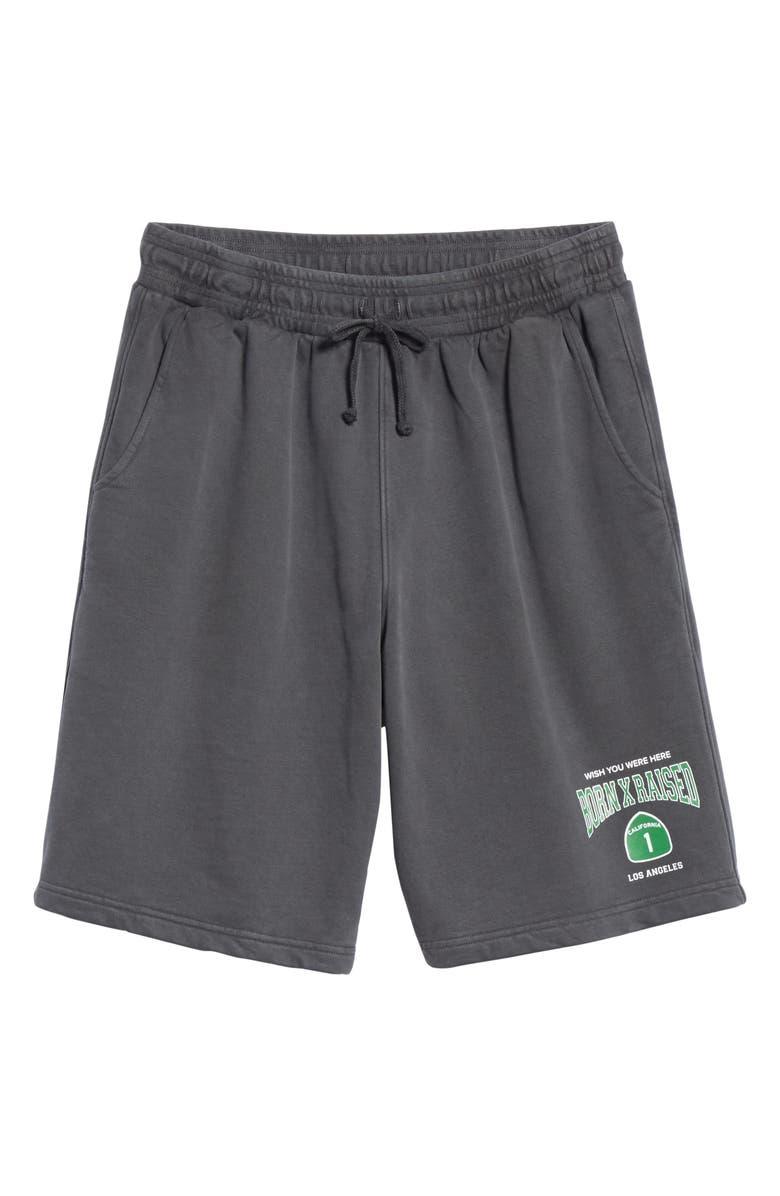 BORN X RAISED PCH 1 Shorts, Main, color, BLACK