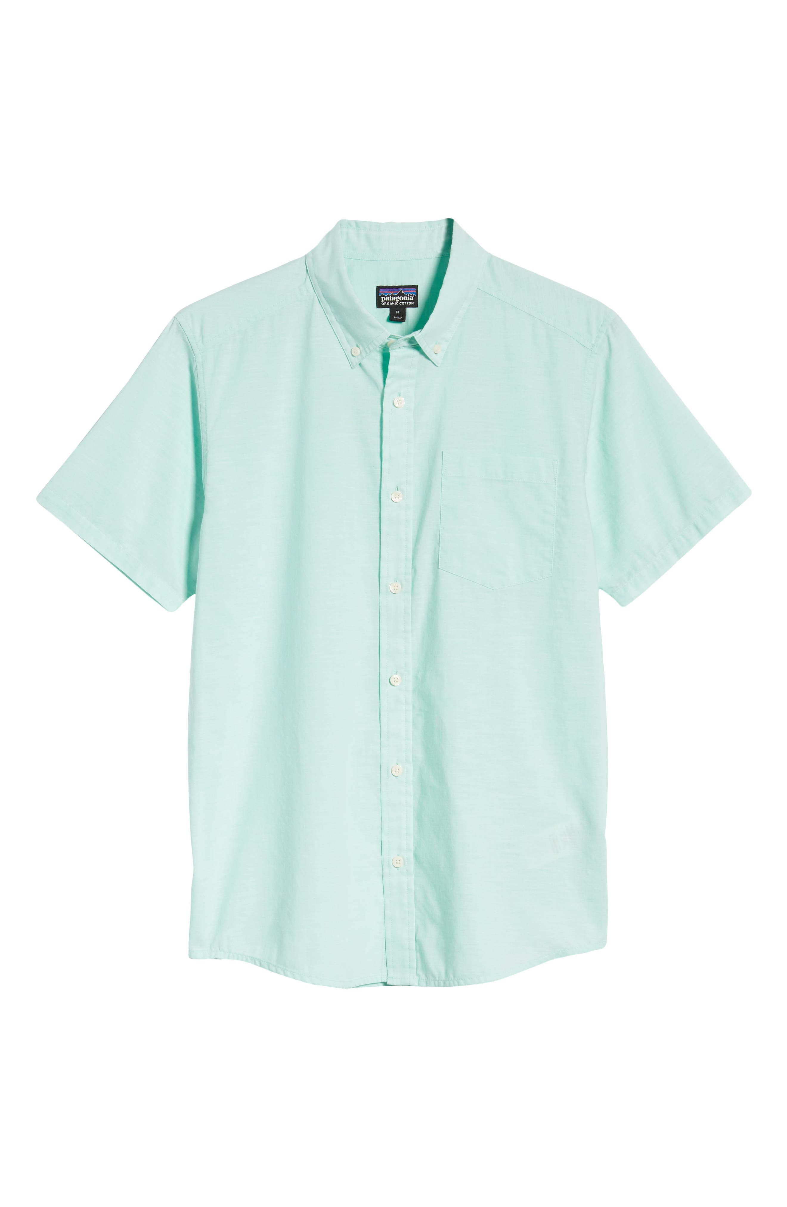 ,                             Bluffside Regular Fit Shirt,                             Alternate thumbnail 5, color,                             CHAMBRAY VJOSA GREEN