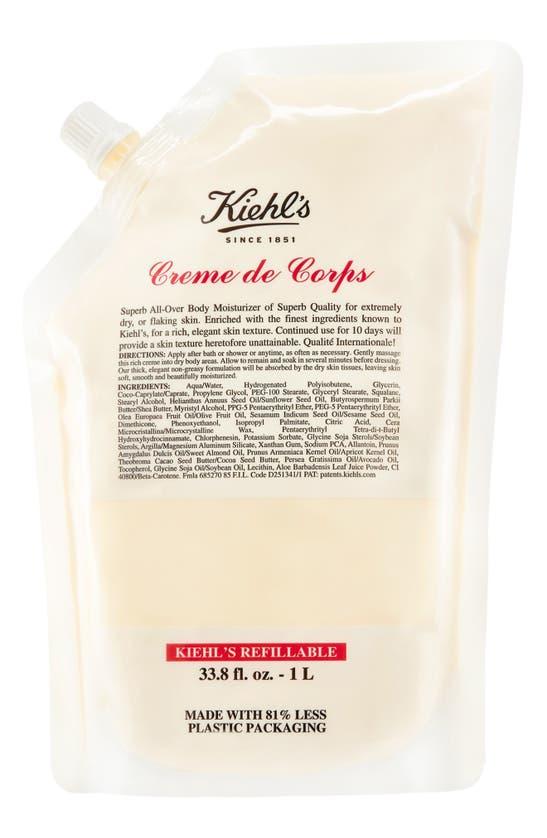 Kiehl's Since 1851 1851 Creme De Corps, 33.8 oz In Refill