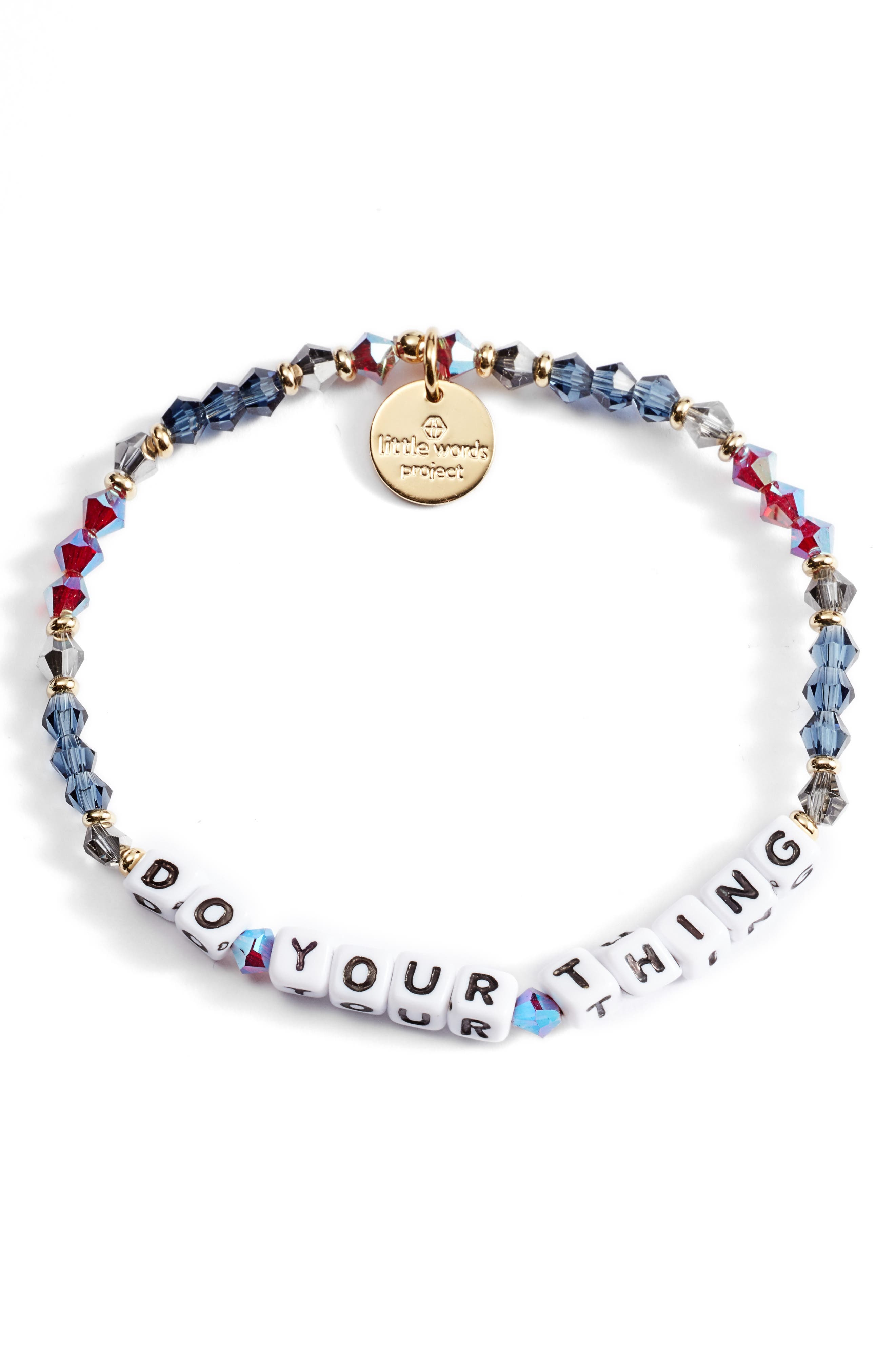 Do Your Thing Beaded Stretch Bracelet