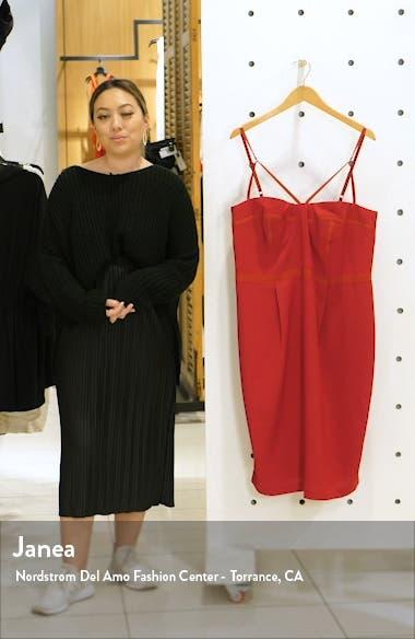 Undress Me Strappy Sheath Dress, sales video thumbnail