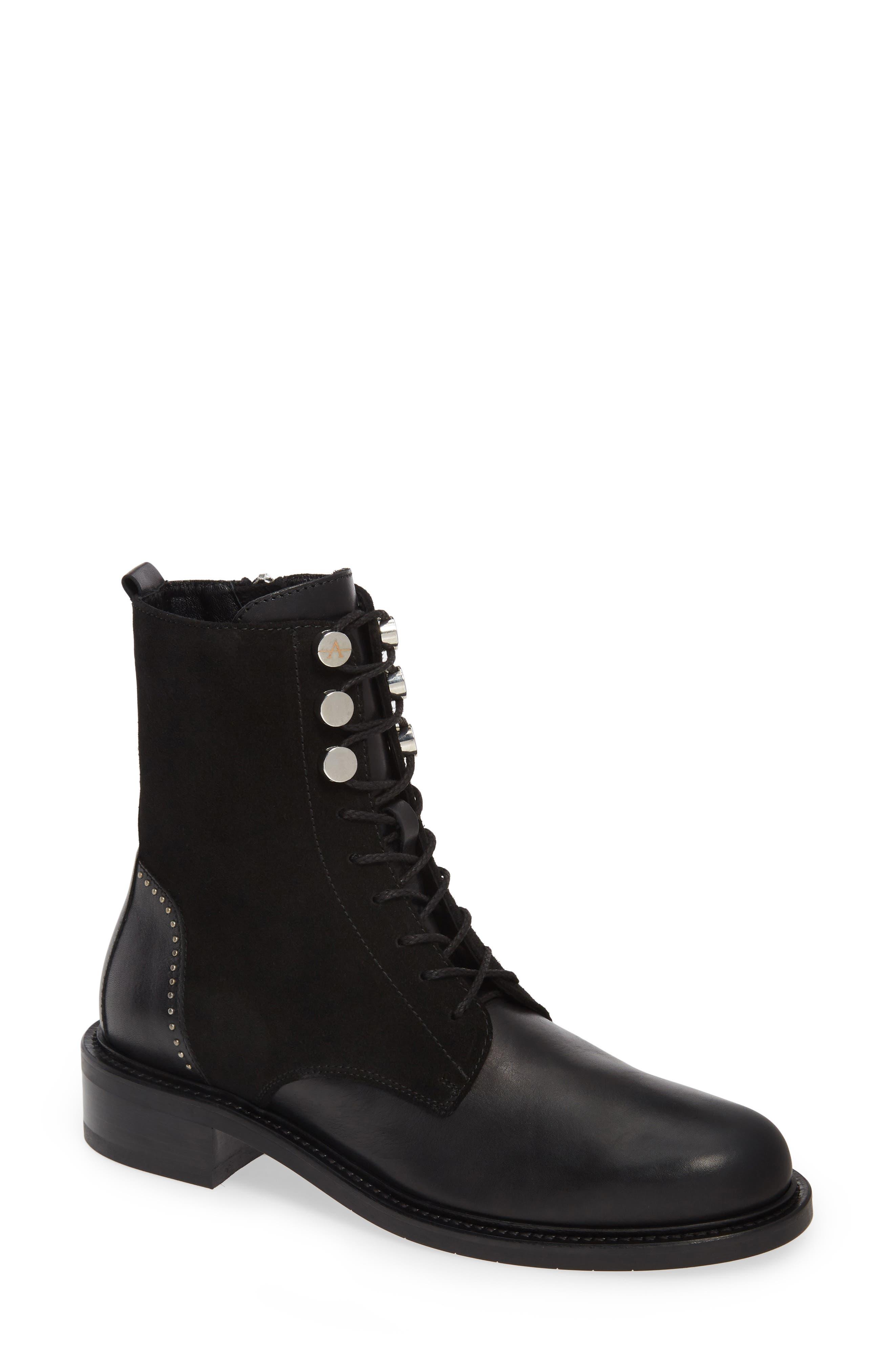 Aquatalia Ali Weatherproof Boot- Black