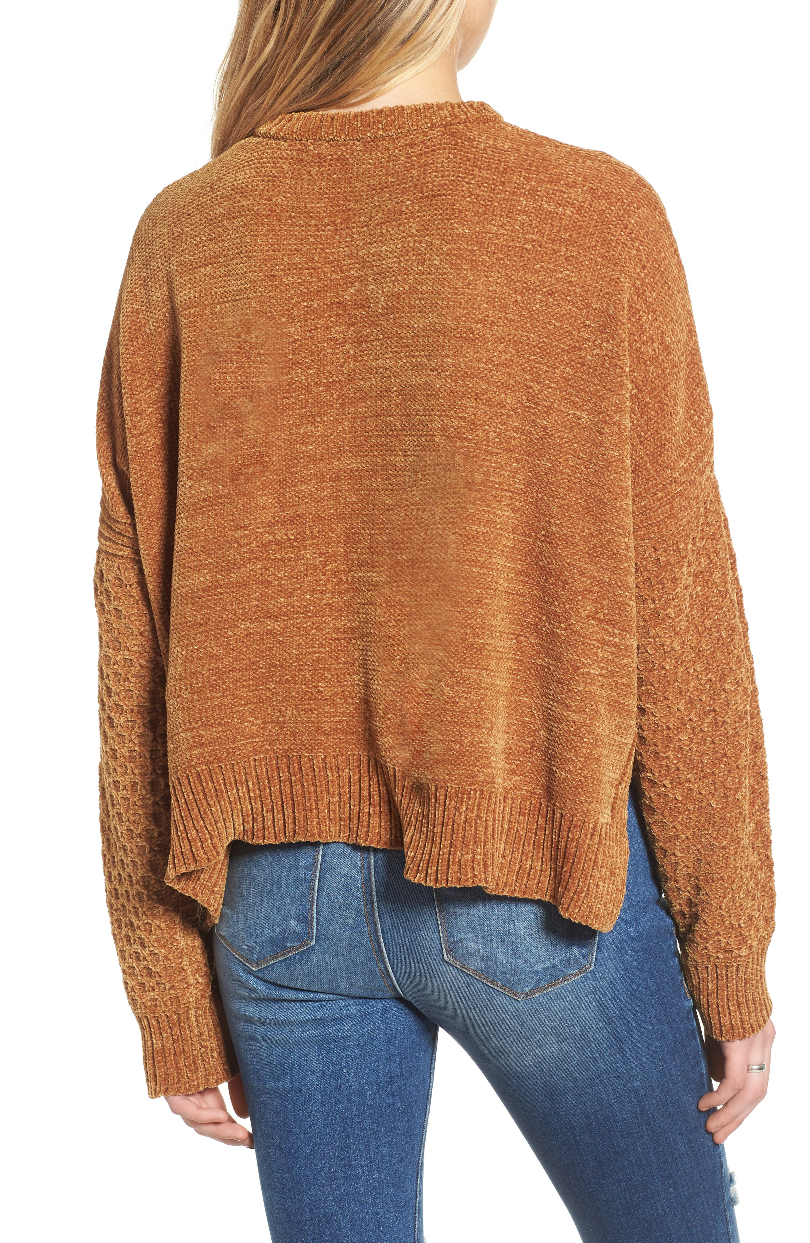 ,                             Chenille Sweater,                             Alternate thumbnail 9, color,                             701