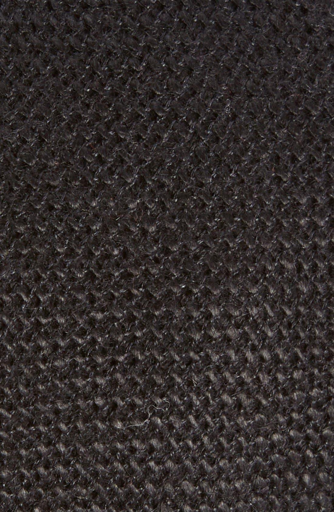 ,                             Knit Linen Tie,                             Alternate thumbnail 2, color,                             001