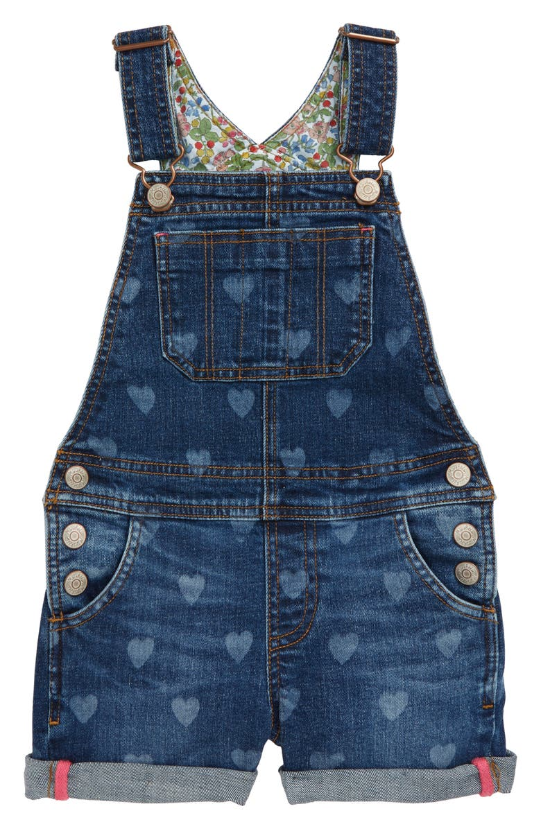 MINI BODEN Dungarees Short Overalls, Main, color, 469