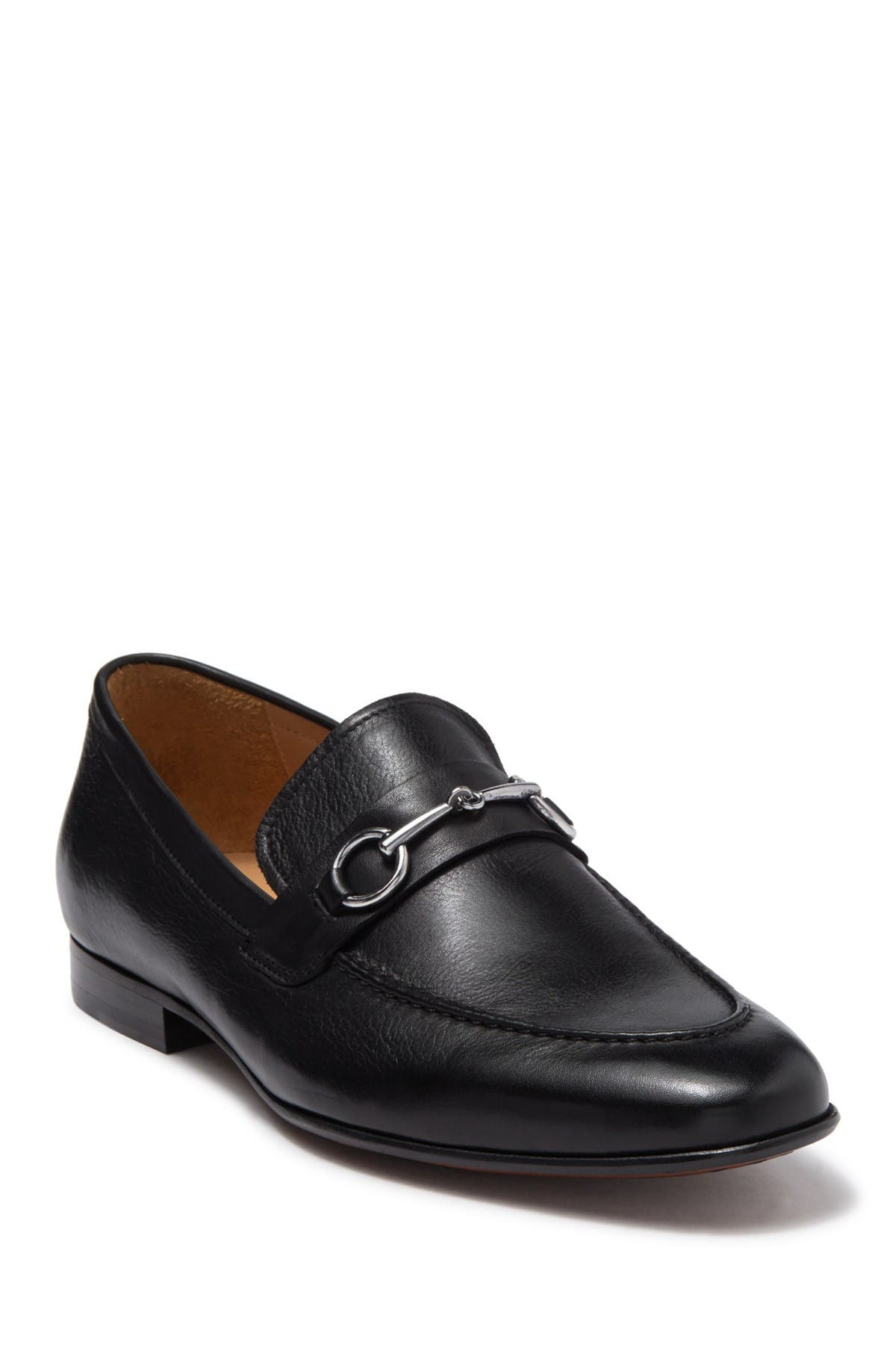 Image of Curatore Brucato Bit Leather Loafer