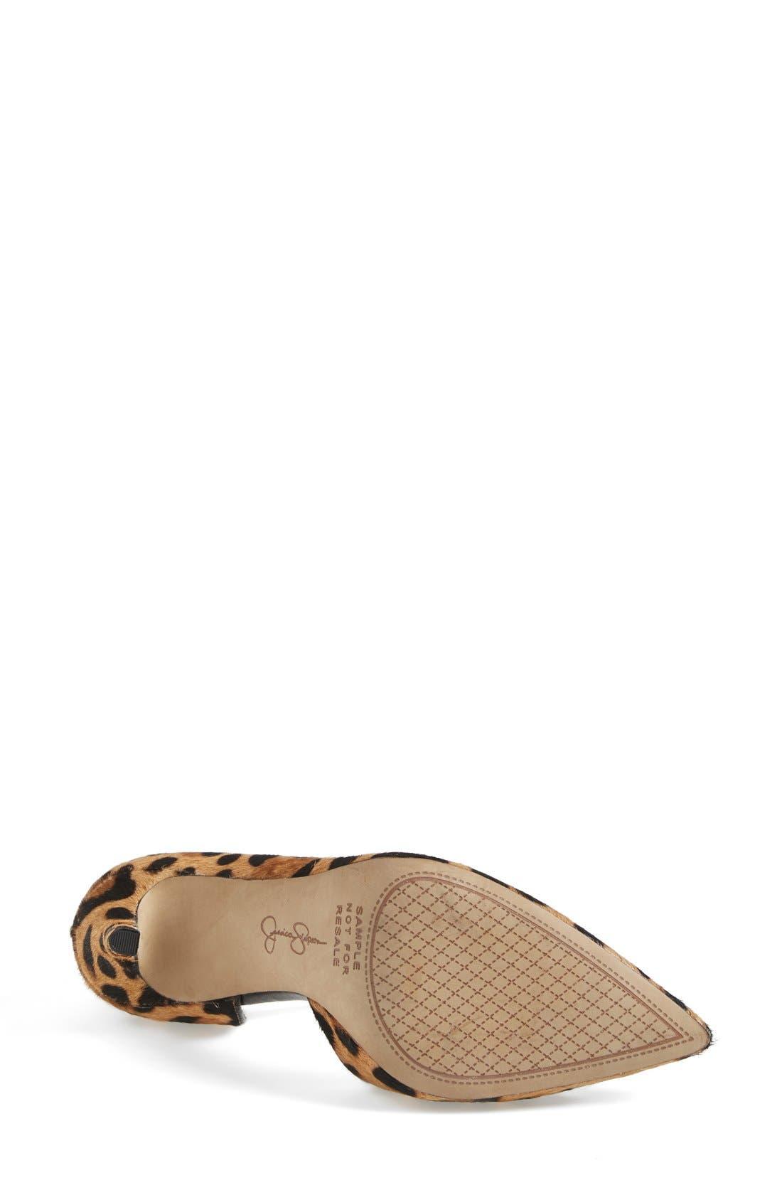 ,                             'Claudette' Half d'Orsay Pump,                             Alternate thumbnail 135, color,                             250