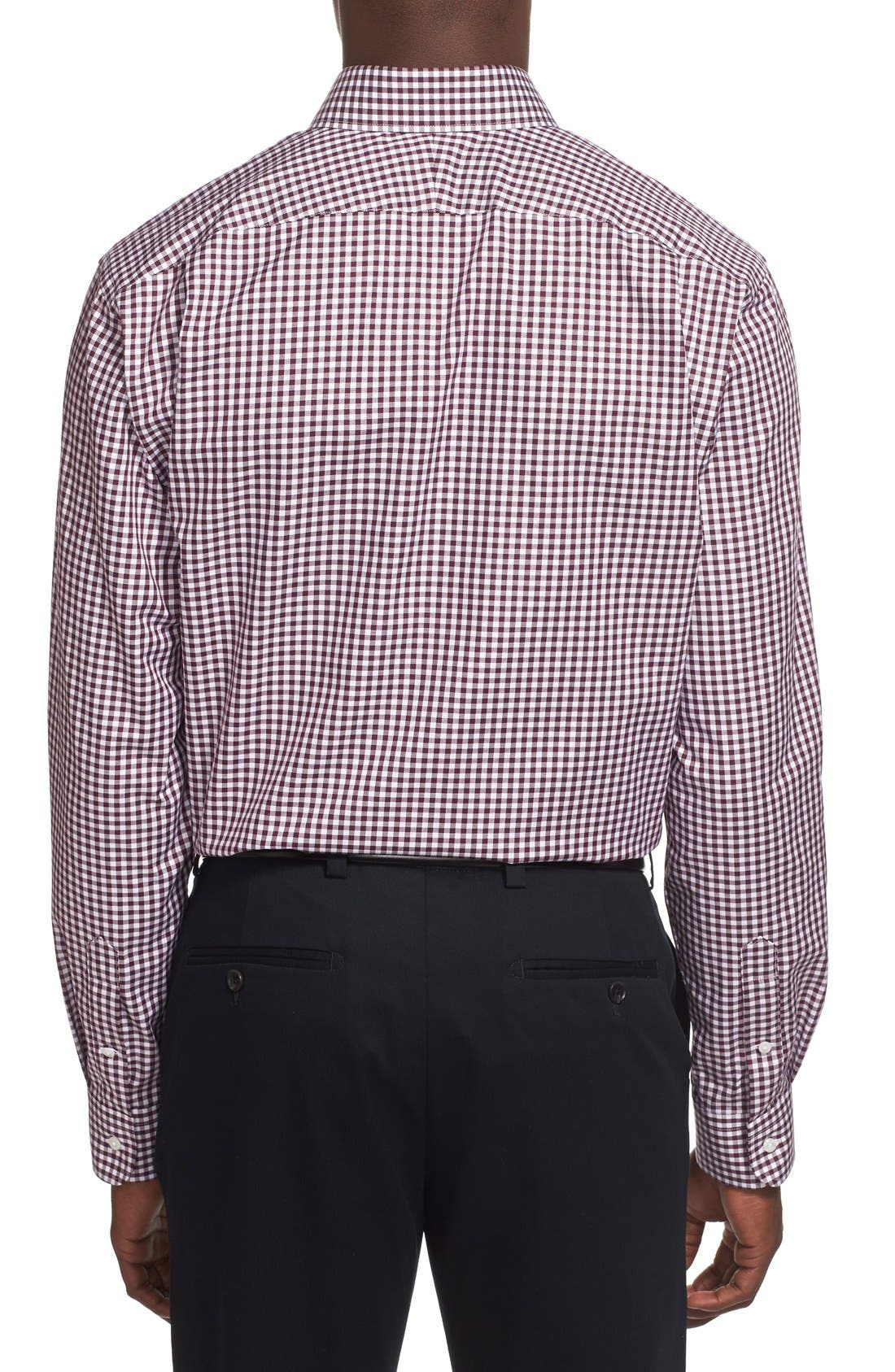 ,                             Traditional Fit Non-Iron Gingham Dress Shirt,                             Alternate thumbnail 61, color,                             501