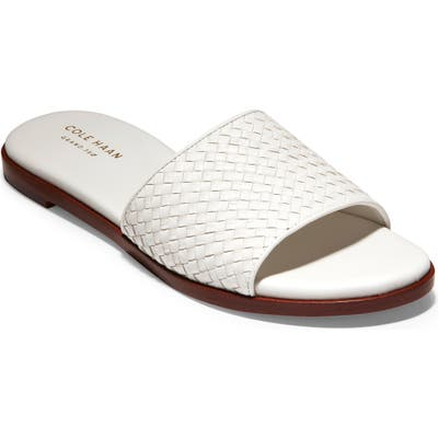 Cole Haan Analise Slide Sandal B - Ivory