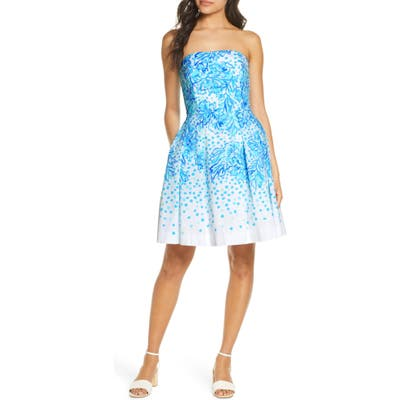 Lilly Pulitzer Kenzie Fit & Flare Dress, White