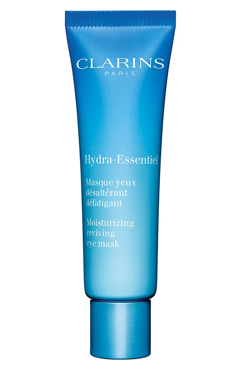 CLARINS Hydra-Essentiel Moisturizing Reviving Eye Mask, Main, color, NO COLOR