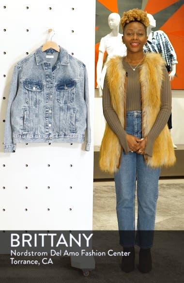 Acid Wash Denim Jacket, sales video thumbnail