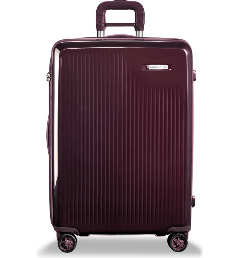 BRIGGS & RILEY Sympatico 27-Inch Expandable Wheeled Packing Case, Main, color, PLUM
