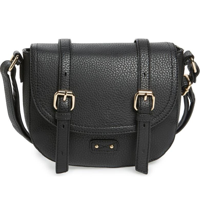 BP. Buckle Saddle Crossbody Bag, Main, color, 005