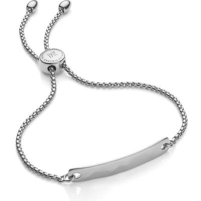 Monica Vinader Engravable Havana Friendship Chain Bracelet