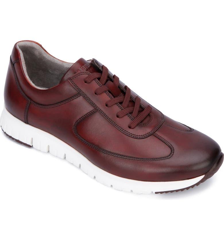 KENNETH COLE NEW YORK Bailey Jogger Sneaker, Main, color, BURGUNDY