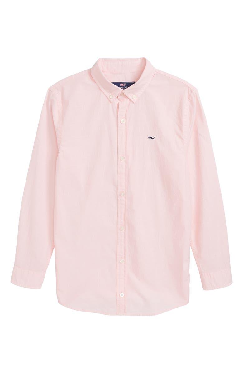 VINEYARD VINES Whale Woven Shirt, Main, color, CAPE CORAL