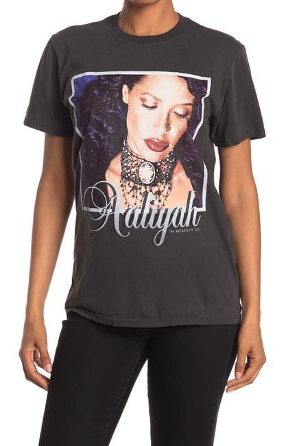 Image of MERCH TRAFFIC Aaliyah Graphic T-Shirt