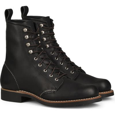 Red Wing Silversmith Boot, Black