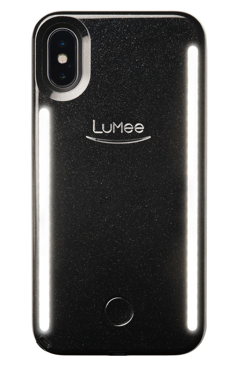 LUMEE Duo LED Lighted iPhone X/Xs, XR & X Max Case, Main, color, 001