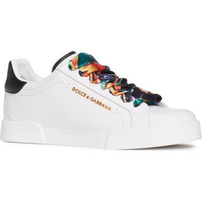 Dolce & gabbana Logo Low Top Sneaker, White